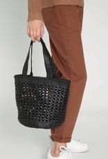 New Cannage Bucket Bag Big Black