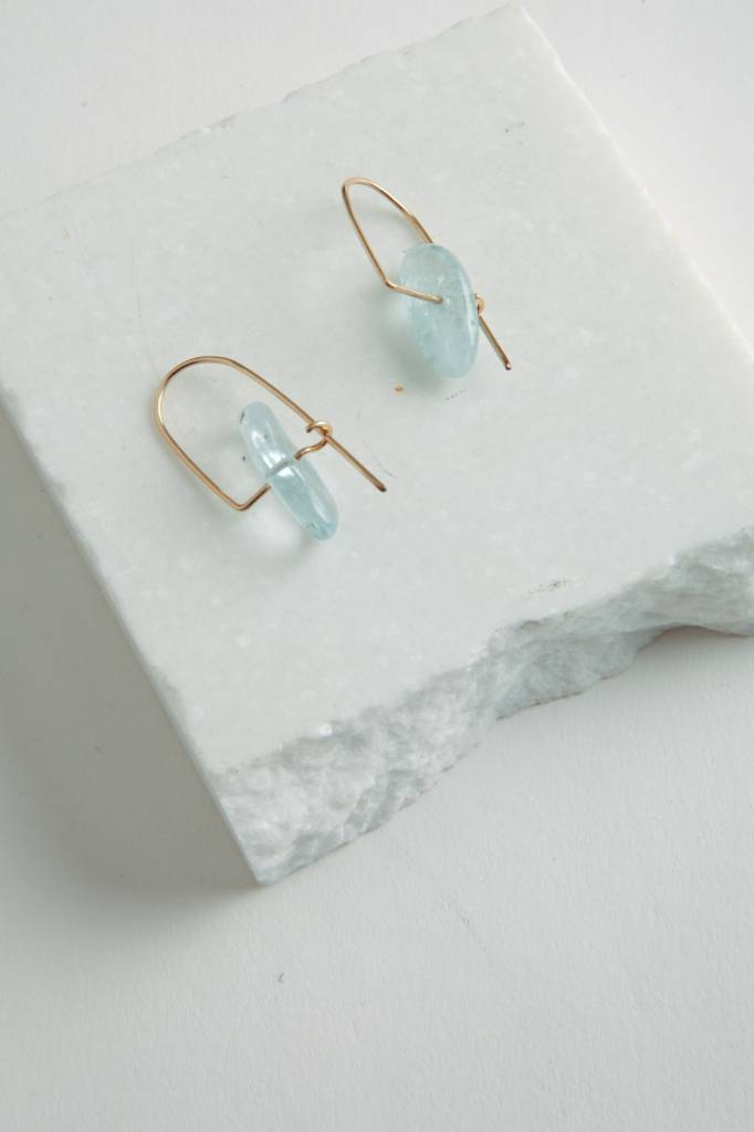 Mary Macgill Aquamarine Mobile Earrings
