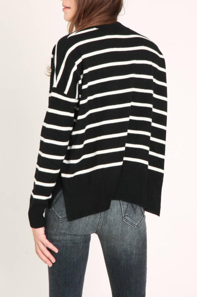 Demy Lee Bennie Stripe Sweater Cashmere