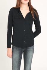 Clara L/S Cotton Cashmere Shirt