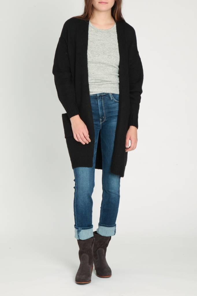 Velvet Velvet Black Cardigan Sweater