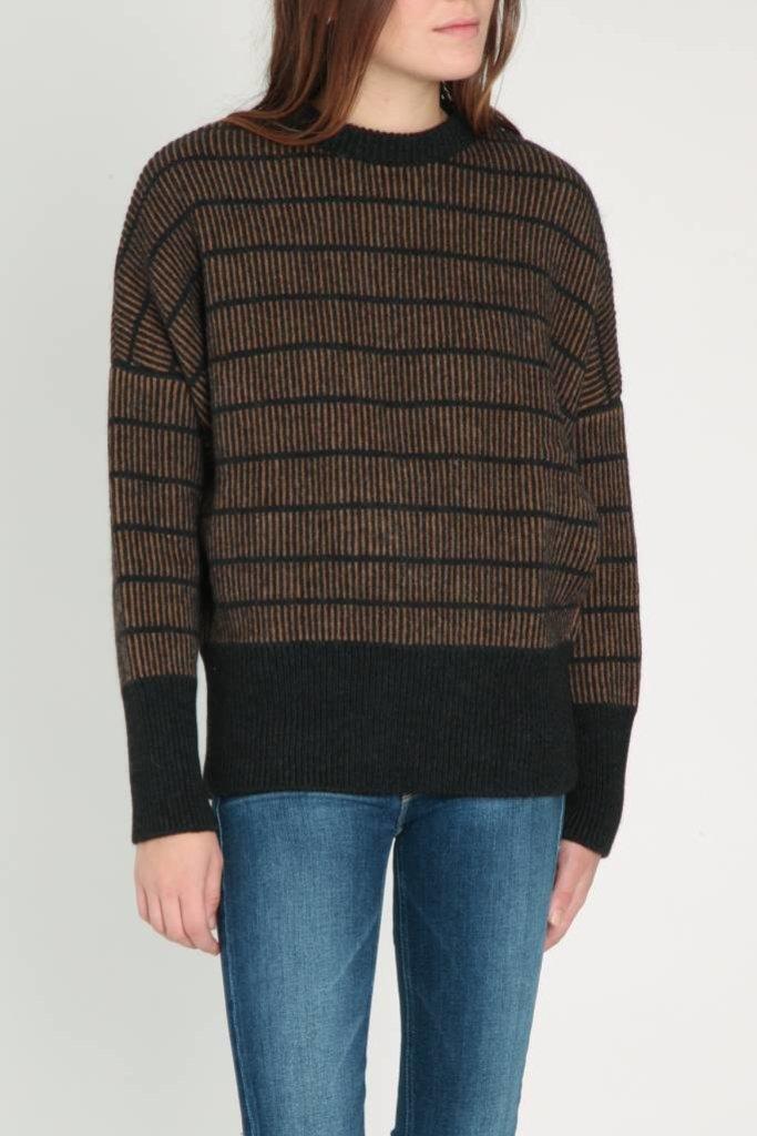 masscob Masscob Stripe Pullover Sweater