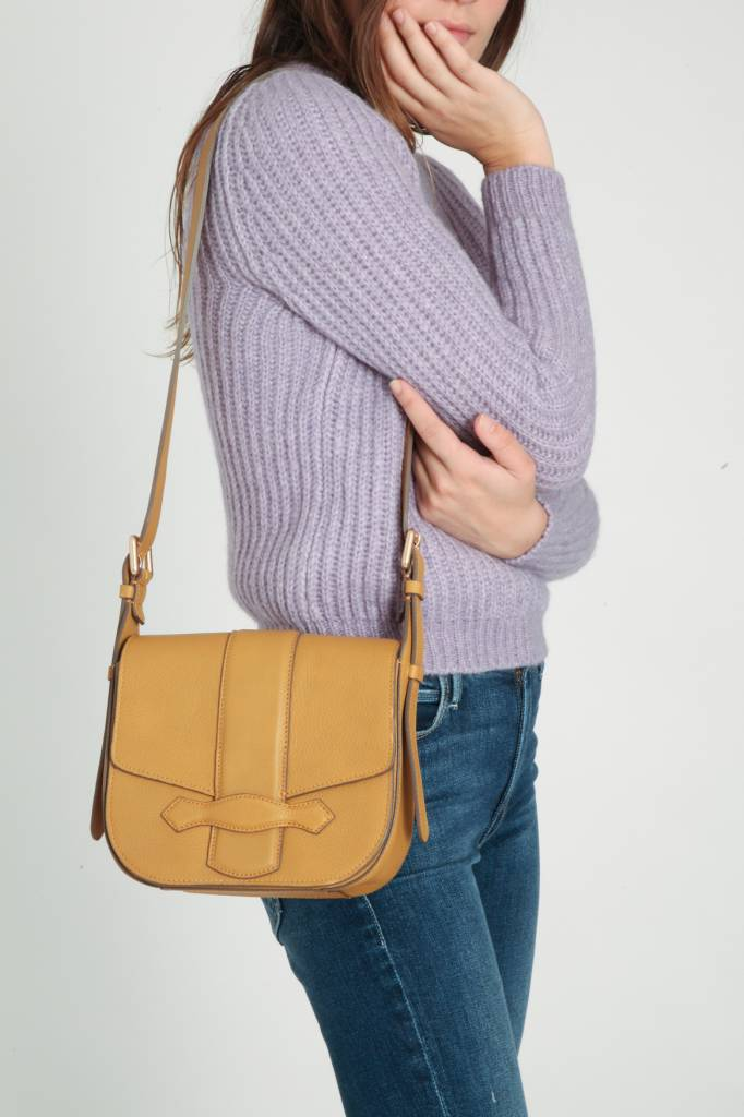 vanessa Bruno Athe Vanessa Bruno Leather Flap Bag
