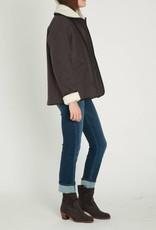 Sessun Faux Shearling Wool Short Coat