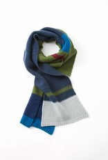 Inouitoosh Otto Scarf Wool/Cashmere Blue