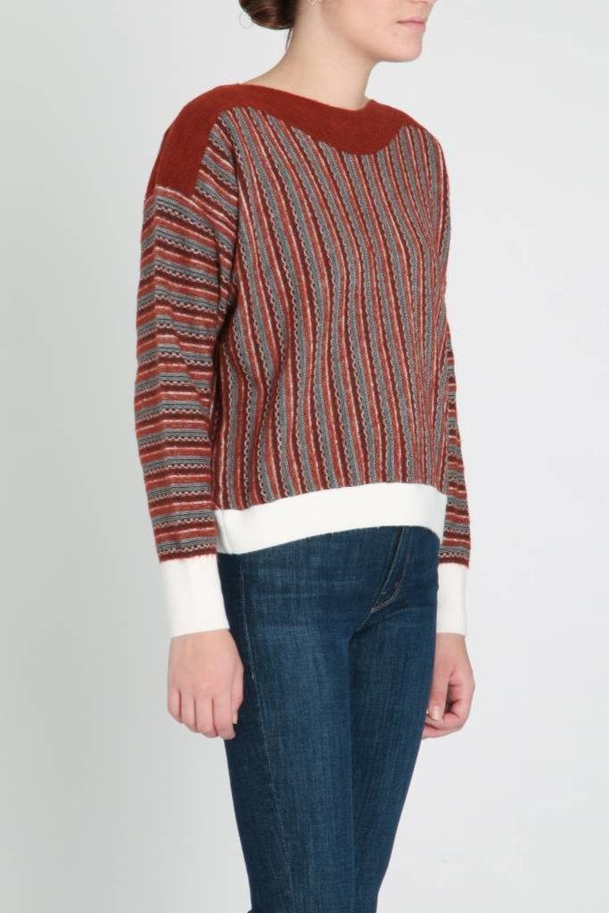 Sita Murt Sita Murt Earth Tones Jacquard Sweater
