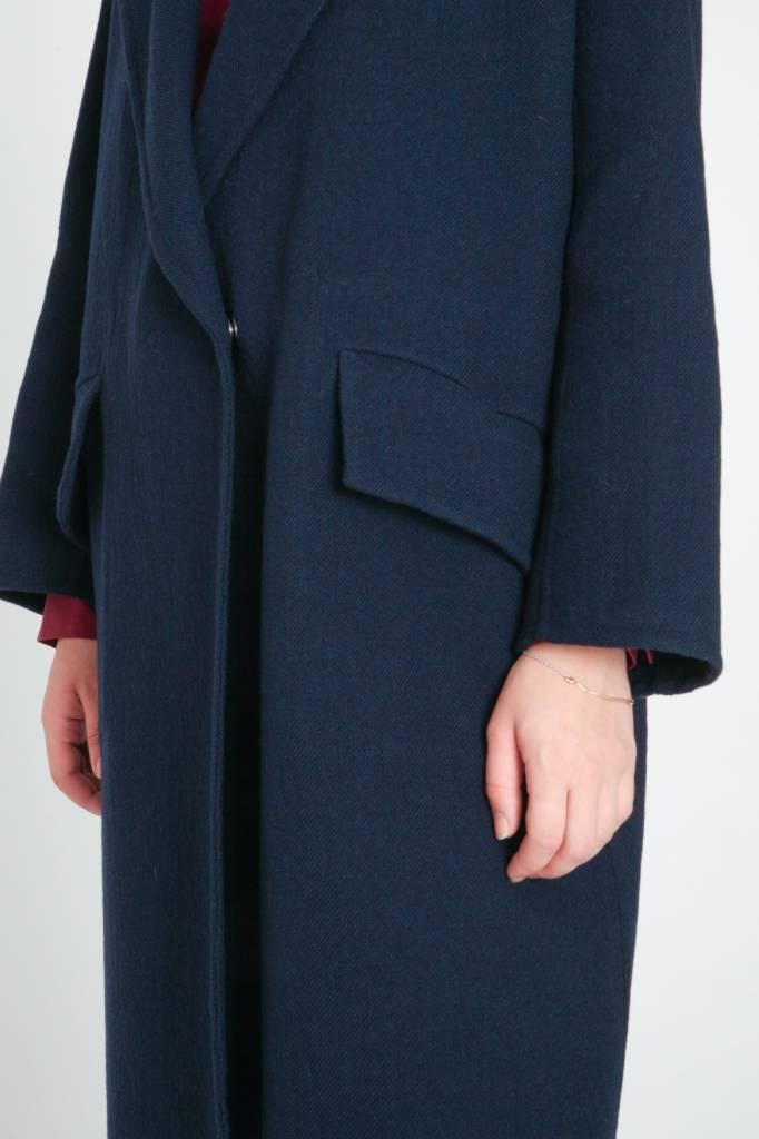masscob Navy Coat