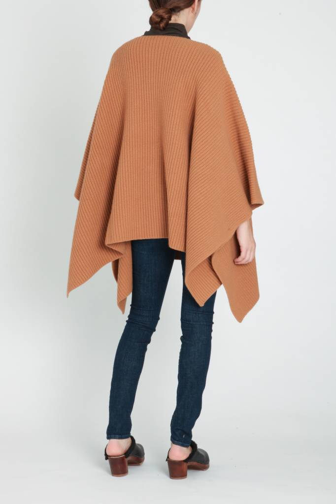 Demy Lee Demy Lee Ribbed Poncho