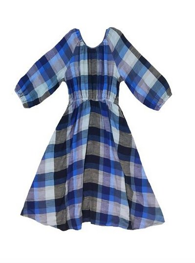 Ace & Jig Ace & Jig Jane Dress Marine