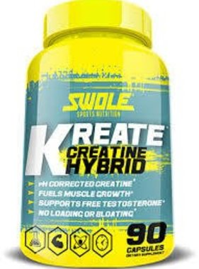 Swole Sports Nutrition Kreate , 90 Capsules