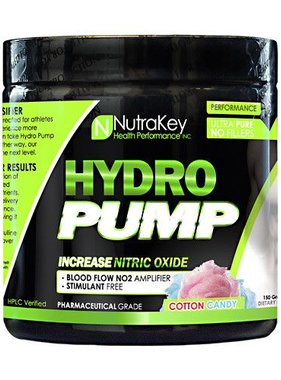 NutraKey Hydropump, Cotton Candy, 30 Servings