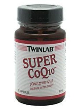 TwinLab Super CoQ10 50 mg, 60 Capsules