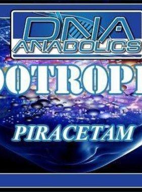 DNA Anabolics Nootropics - Piracetam, 90 Capsules