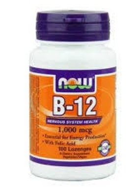 NOW Foods B-12 1000 mcg, 100 Lozenges