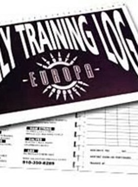 Europa Daily Training Log, Workout Journal