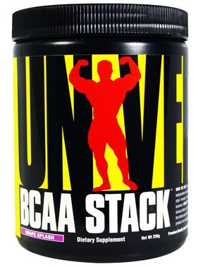 Universal Nutrition BCAA Stack, Grape, 25 Servings (250 gms)