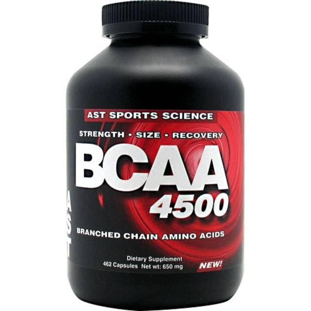 AST Sports Science BCAA 4500 , 462 Capsules