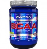 AllMax Nutrition BCAA 2:1:1 Powder, Unflavored, 80 Servings (400gms)