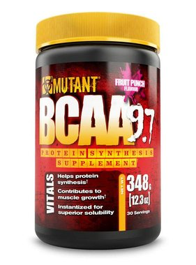 Mutant BCAA 9.7, Fruit Punch, 30 Servings