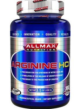 AllMax Nutrition Arginine HCL Powder