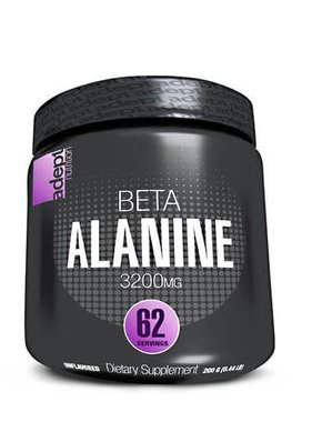 Adept Nutrition Beta Alanine, 3200mg, 62 servings