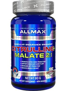 AllMax Nutrition L-Citrulline Malate 2:1, 40 Servings
