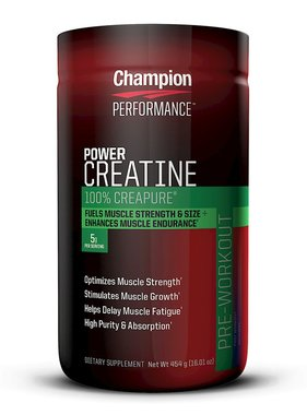 Champion Nutrition Power Creatine, 1 lb, 90 servings
