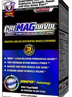AllMax Nutrition CreMAGnaVol, 240 tablets
