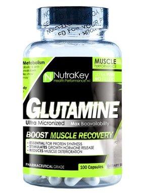 NutraKey Glutamine 900 mg., 100 Capsules