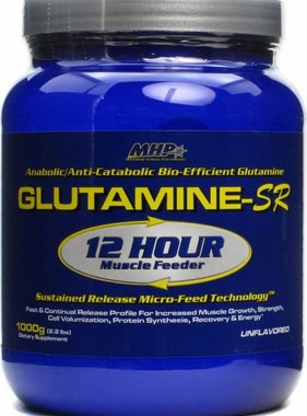 MHP Glutamine-SR, 167 Servings, 1000gms