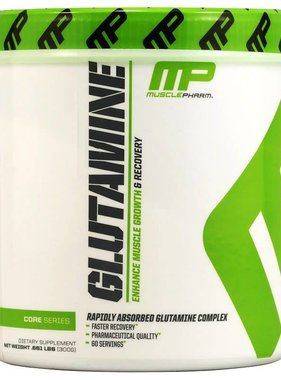 MusclePharm Glutamine, 60 Servings, 300gms