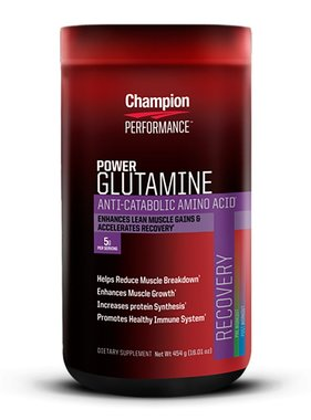 Champion Nutrition Glutamine Power, 90 Servings