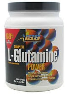 ISS Complete L-Glutamine Power, 200 Servings, 2.2lbs