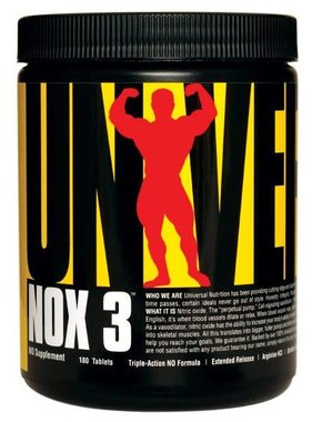 Universal Nutrition NOX 3, 180 tablets