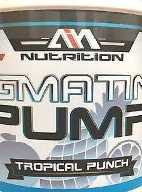 MMI Nutrition MMI Agmatine Pump Stim-Free, Tropical Punch, 40 Servings