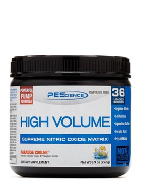 PES High Volume, Paradise Cooler, 18 Servings