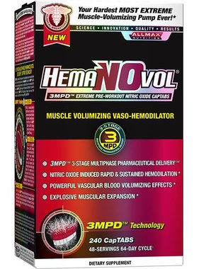 AllMax Nutrition HemaNOvol, 240 Capsules