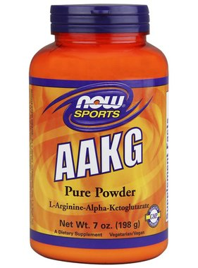 NOW Foods AAKG Powder, 47 Servings, 7 oz