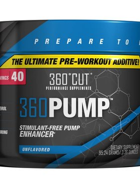 360Cut 360Pump, Unflavored, 40 servings