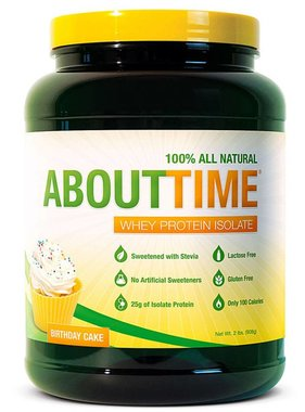 SDC Nutrition About Time Whey Protein Isolate