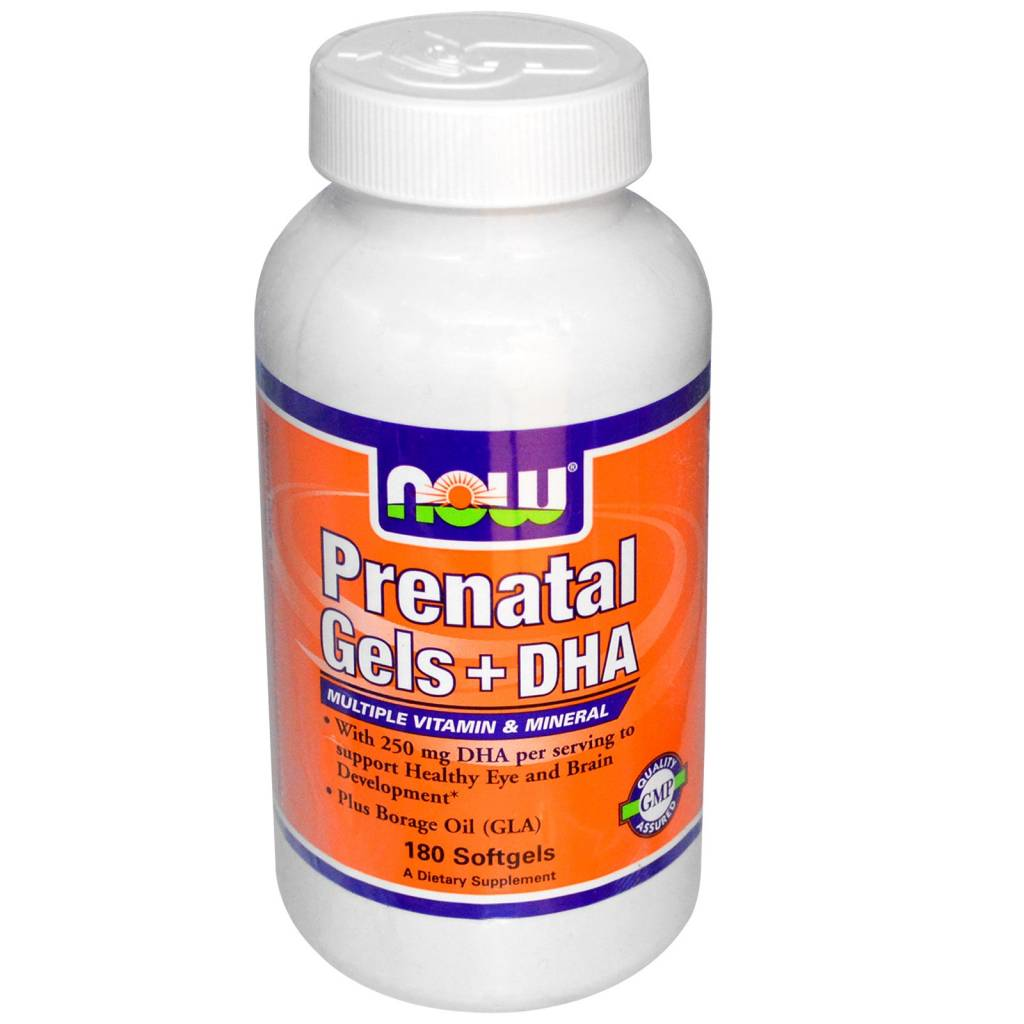 NOW Foods PrenatalGels + DHA