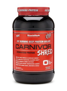 MuscleMeds Carnivor Shred, Chocolate, 2lb