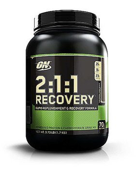 Optimum Nutrition 2:1:1 Recovery, Colossal Chocolate, 3.73 lbs.