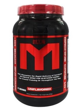 MTS Machine Carb 10, Unflavored, 31 servings