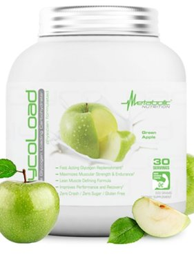 Metabolic Nutrition Glycoload, Green Apple, 30 Servings