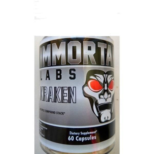 Immortal Labs Kraken, 60 Capsules