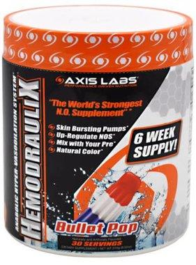 Axis Labs Hemodraulix, Bullet Pop, 30 serving