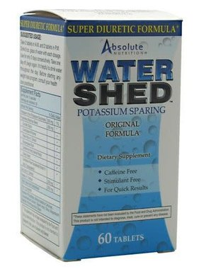 Absolute Nutrition Water Shed, 60 Capsules