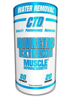 CTD Labs Diuretic Extreme, 80 capsules