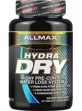 AllMax Nutrition Hydradry, 84 Tablets